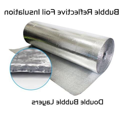 Heavy Silver Cell Air Bubble Insulation Heat Radiant