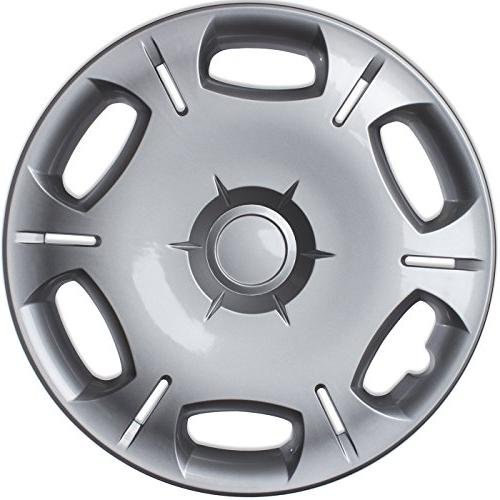 OxGord Hub-caps Scion XB 16 Silver Wheel Snap On