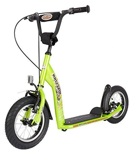 Sport Push Scooter Kids and air age 7 children Edition with Alloy Wheels Inch Green