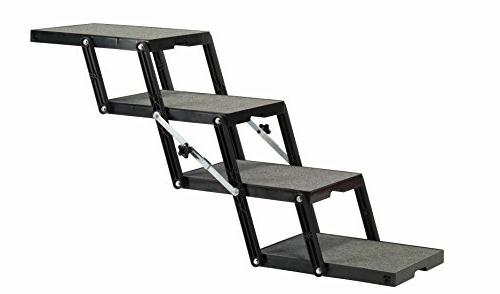 "Pet Loader Stairs - Light 16"" 4 Step for Elevated - to Store"
