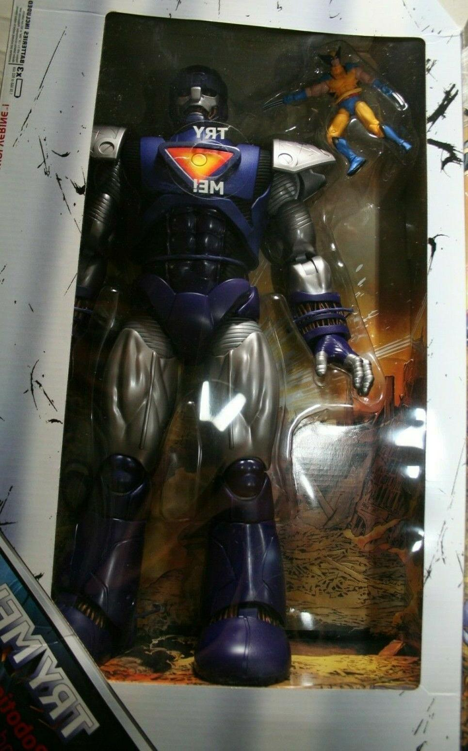 "Marvel ""16-inch Sentinel with Figure"" NEW -"