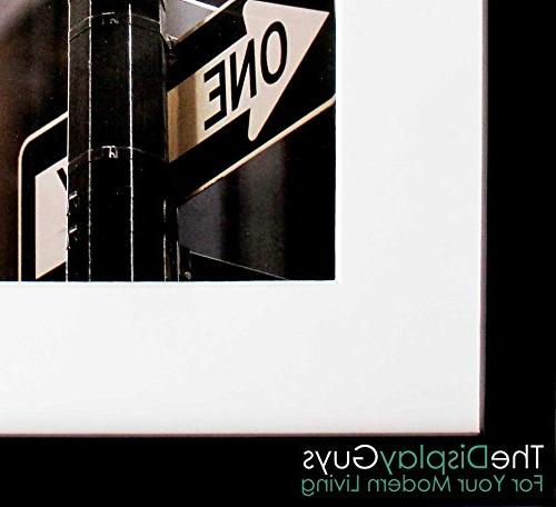 The Inch Pine Wood Tempered Luxury Affordable, White Core for 16x20 Picture + Collage