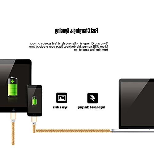 Micro USB Cord,iBarbe sync and power kindle fire charger for Amazon Kindle Fire, Touch,HD, HDX, Kindle Voyage, Amazon M902R