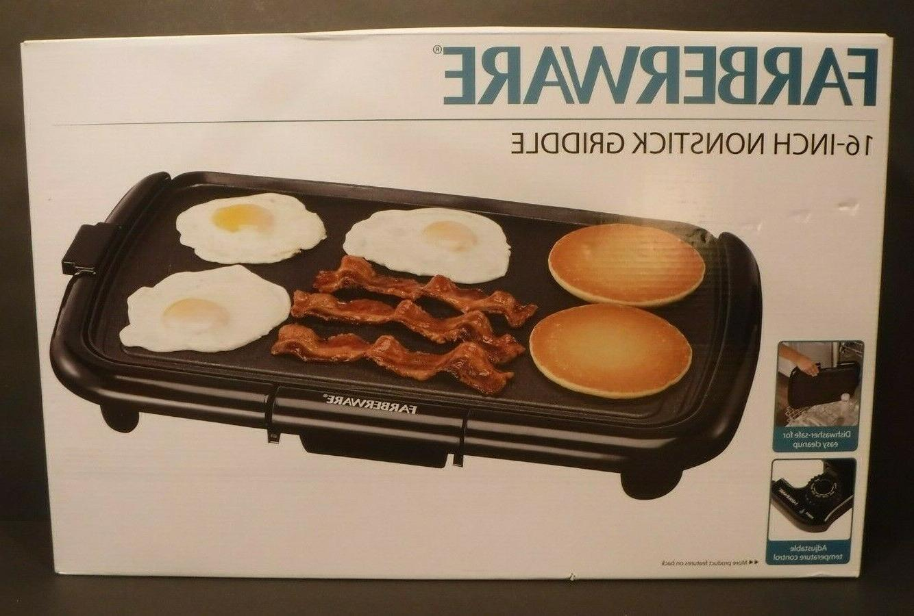 New Farberware Nonstick Griddle #201795