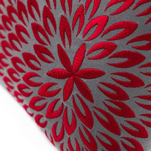 KainKain Flower Decorative Throw Cotton Couch Cushion Modern Floral Holiday Decor