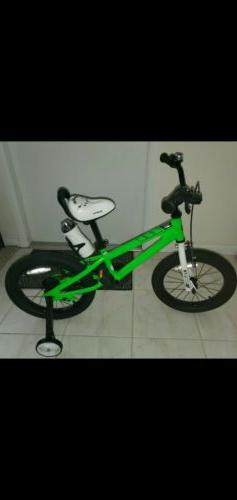 RoyalBaby RB16B-6R 16 inch Kids Freestyle Bike - Green