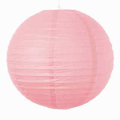 set of 3 light pink paper party