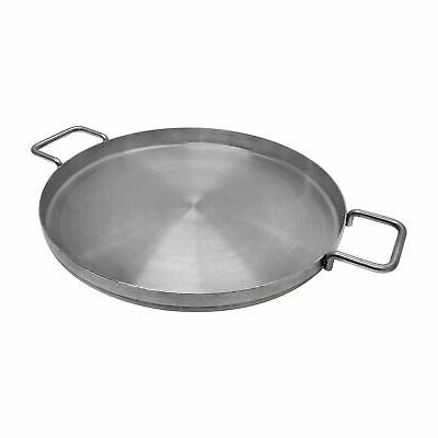 Stainless Steel Flat Comal Griddle Cookware inch