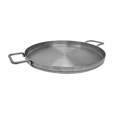 stainless steel flat comal griddle pan cookware