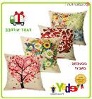 Outdoor Throw Pillow Covers Set of 4 Patio Garden Couch Cush