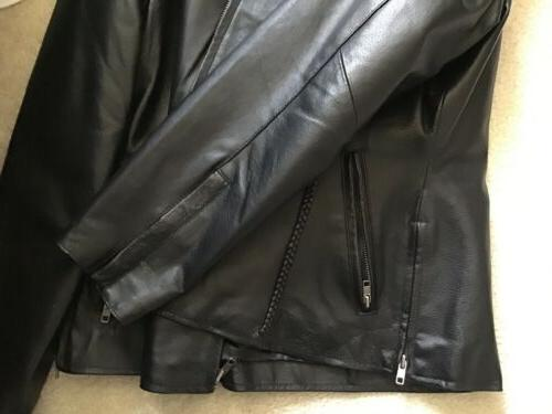 Women's Leather Motorcycle XL