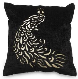 Laser-Cut Indoor Decorative Throw Turkish Pillow Case Back R