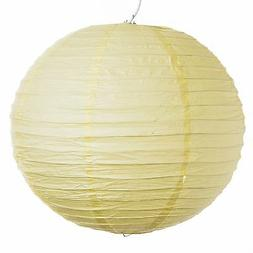 "Light Yellow Paper Party Wedding Lanterns - 12"", 16"" and 20"""
