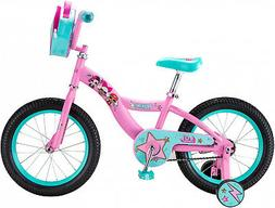 LOL Suprise Kids Bike, 16-inch Wheel, Girls, Pink