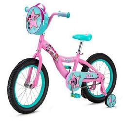 LOL Suprise Kids Bike 16-inch Wheel Girls Pink Outdoor Play