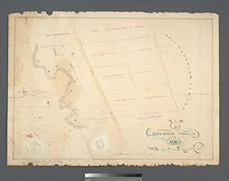 Map Poster - Map of Garret Nostrand's farm at Flushing, in Q
