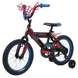 Huffy Marvel Spider-Man Boys Bike, 16 inch Web Plaque NEW