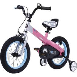 Royalbaby Matte Buttons 16-inch Kids' Bike with Training PIN