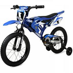 "NEW 16"" inch Yamaha Moto Bike BMX Kids Bicycle Child Bikes B"