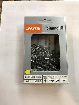 NEW STIHL CHAINSAW CHAIN SAW 18 in. 26RM 74 .325 .63 74 18 I