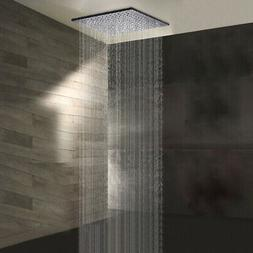 "Oil Rubbed Bronze 16 ""LED Square Rain Shower Head Without  S"