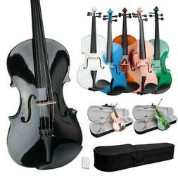 Optional Student 15 16 inch Acoustic Viola + Case + Bow + Ro