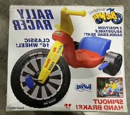 Original 16 Inch Big Wheel Rally Racer with Spinout Hand Bre