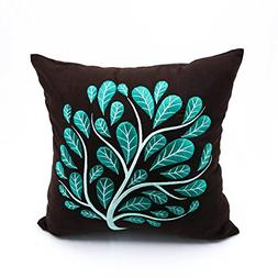 KainKain Pillow Cover, Decorative Pillow Cover,Embroidered P