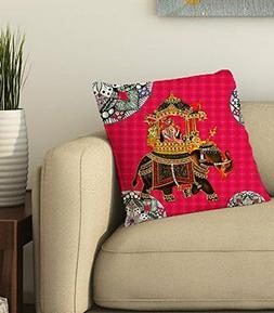 Pink Elephant Cushion Cover Throw Pillow case Home sofa Car