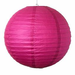 "Pink Paper Party Wedding Lanterns - 12"", 16"" and 20"" sizes"