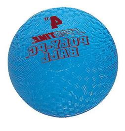 Sportime Poly Playground Ball - 4 inch - Blue