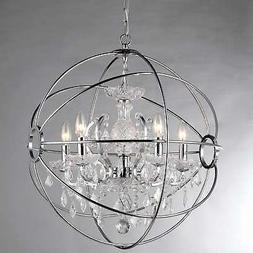 16 in. Saturn's Ring Chandelier