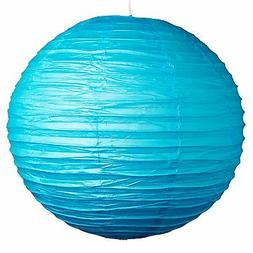 """Sky Blue Paper Party Wedding Lanterns - 12"""", 16"""" and 20"""" si"""