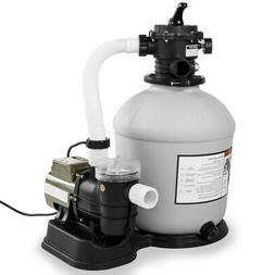 """Swimming Pool 16""""-inch Sand Filter with 3,100 GPH 3/4 HP Poo"""