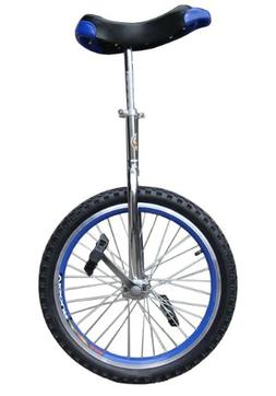 """Fantasycart 16"""" Unicycle Cycling in & Out Door Chrome Colore"""
