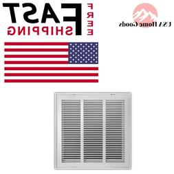 White Return Air Filter Grille 16 in. x 16 in.Air Conditione