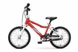 """woom 3 Pedal Bike 16"""", Ages 4 to 6 Years. Red"""