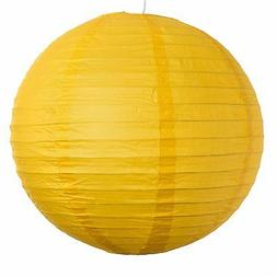 "Yellow Paper Party Wedding Lanterns - 12"", 16"" and 20"" siz"